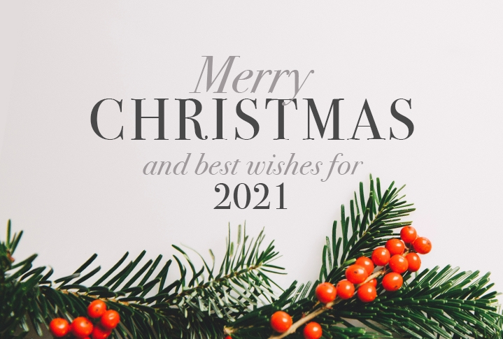 merry christmas and best wishes from colour print