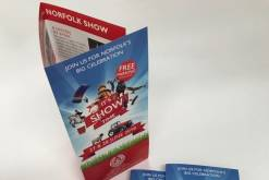 Leaflet for Norfolk Show stand
