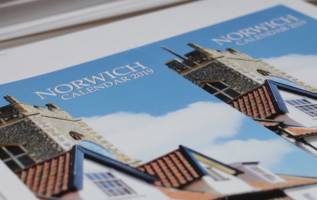 Norwich 2019 Calendar printed in Norwich